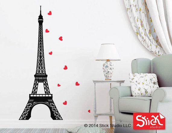 Eiffel Tower Wall Art best 25+ paris wall art ideas on pinterest | paris bedroom decor