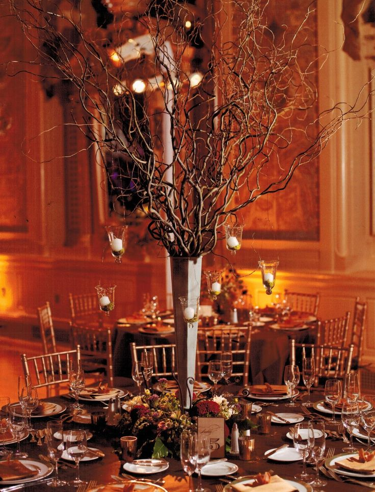 22 Best Images About Curly Willow Centerpieces On