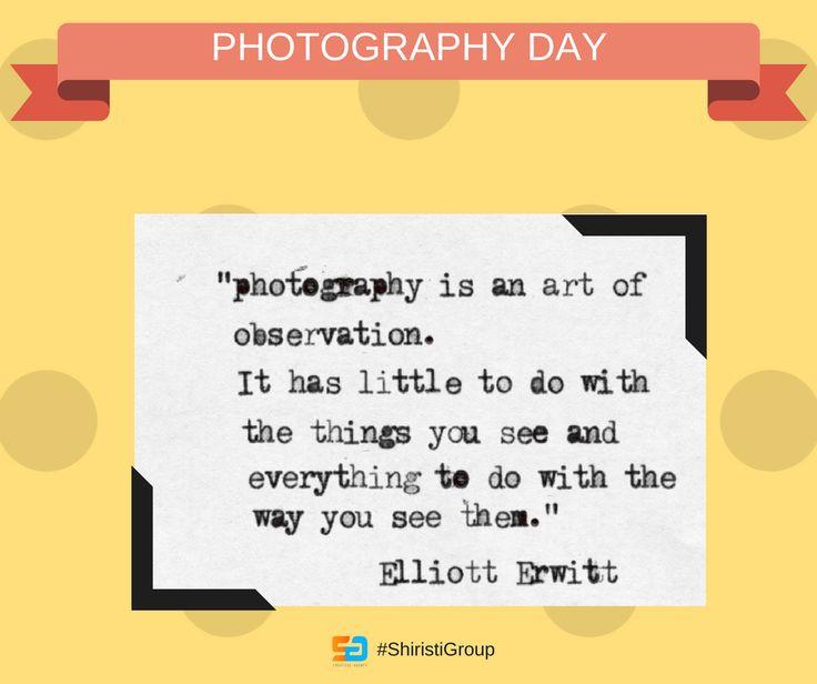 #PhotographyDay #photographyday2017 #shiristigroup
