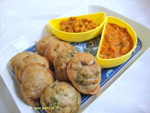 Paniyaram with Jowar flour