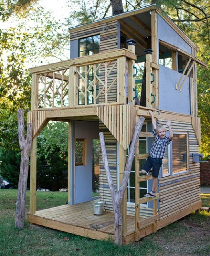 10 Images About Apanghar House Designs On Pinterest: 10 Best Ideas About Pallet Tree Houses On Pinterest