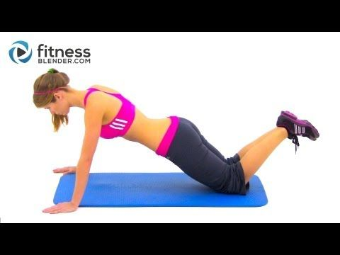 20 Minute Home Upper Body Workout Routine - Fitness Blender Workout to get Toned Arms