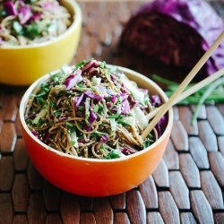 Quick Asian Noodle Salad: need to try this one