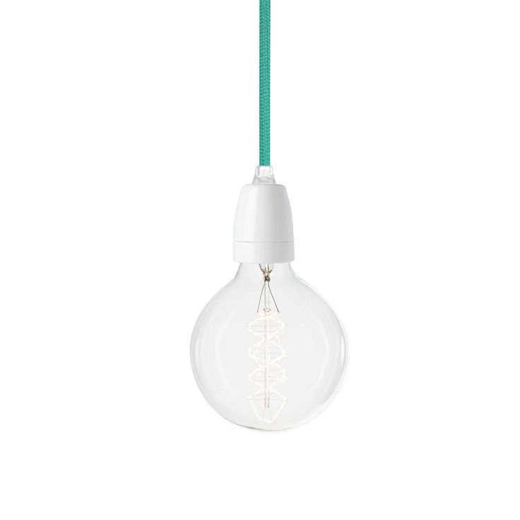 Suspension NUD Collection Bleu turquoise TT-36