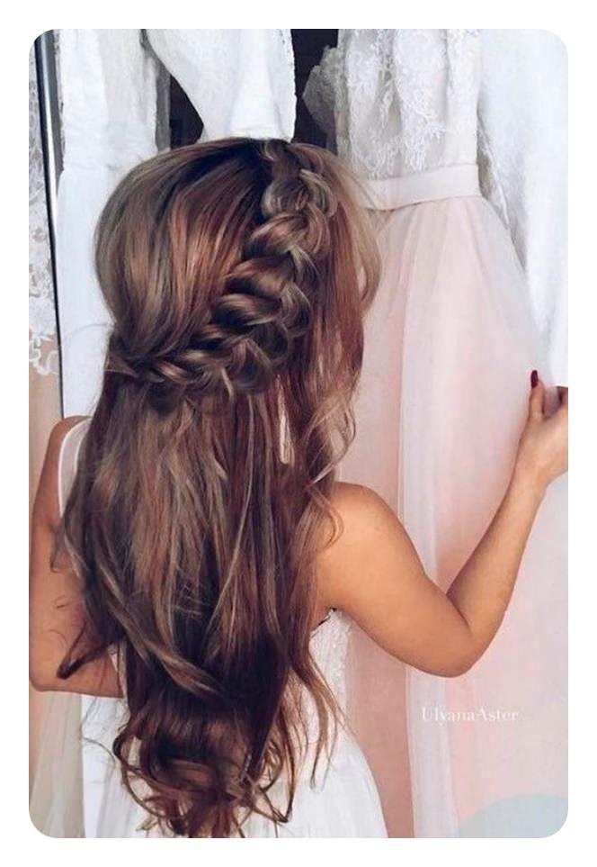 71 Peinados De Dama De Honor Unicos Para El Gran Dia Peinados Largos Peinados Formales Sueltos Peinados Bonitos