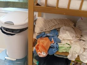 Splendor in the Home: Our Dirty Little Cloth-Diapering Secret: Ammonia Problems
