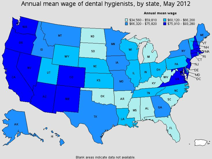 Best Dentistry Images On Pinterest Dental Assistant Dental - Heat map of us dentists