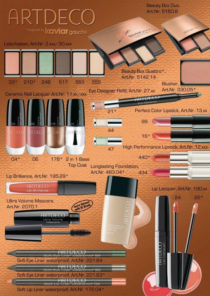 #ArtDeco #Cosmetics