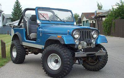 1983 Jeep CJ7; pre-Chrysler, of course!