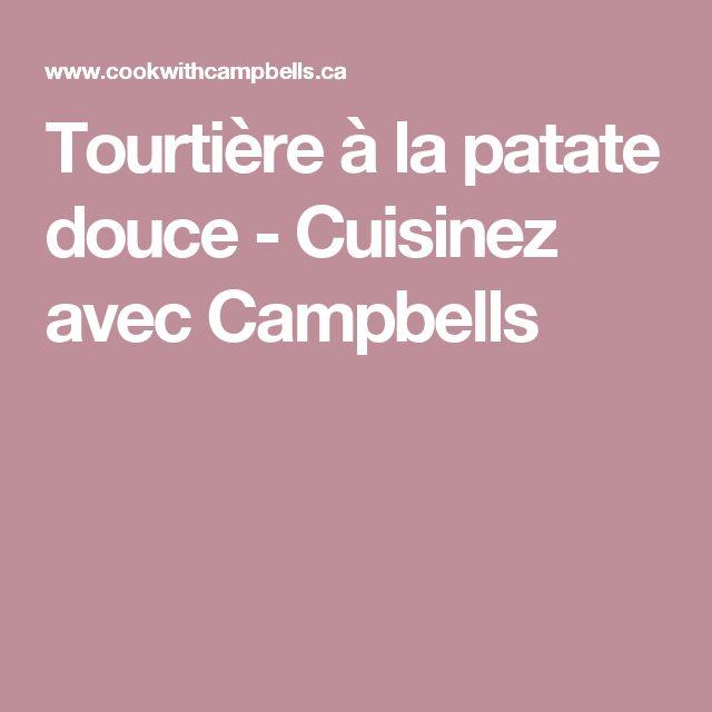 Tourtière à la patate douce - Cuisinez avec Campbells