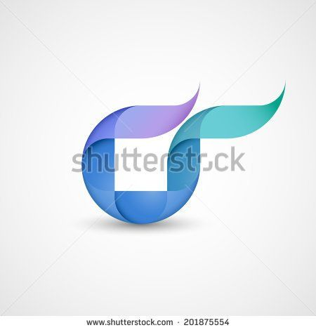 Abstract shape, eps10 vector