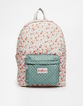 Enlarge Cath Kidston Quilted Backpack