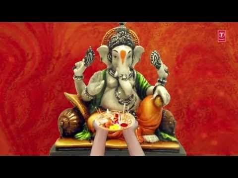 GANESH CHATURTHI SPECIAL I JAI GANESH DEVA, Ganesh Aarti by ANU MANU I Full Video Song - YouTube