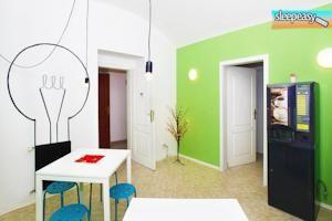 Our cute and design comune area . #hostelprague #prague #travel