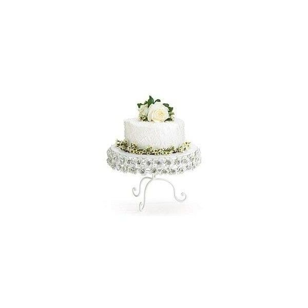 Victorian Garden Wedding Cake Stands ❤ liked on Polyvore featuring home, kitchen & dining and serveware