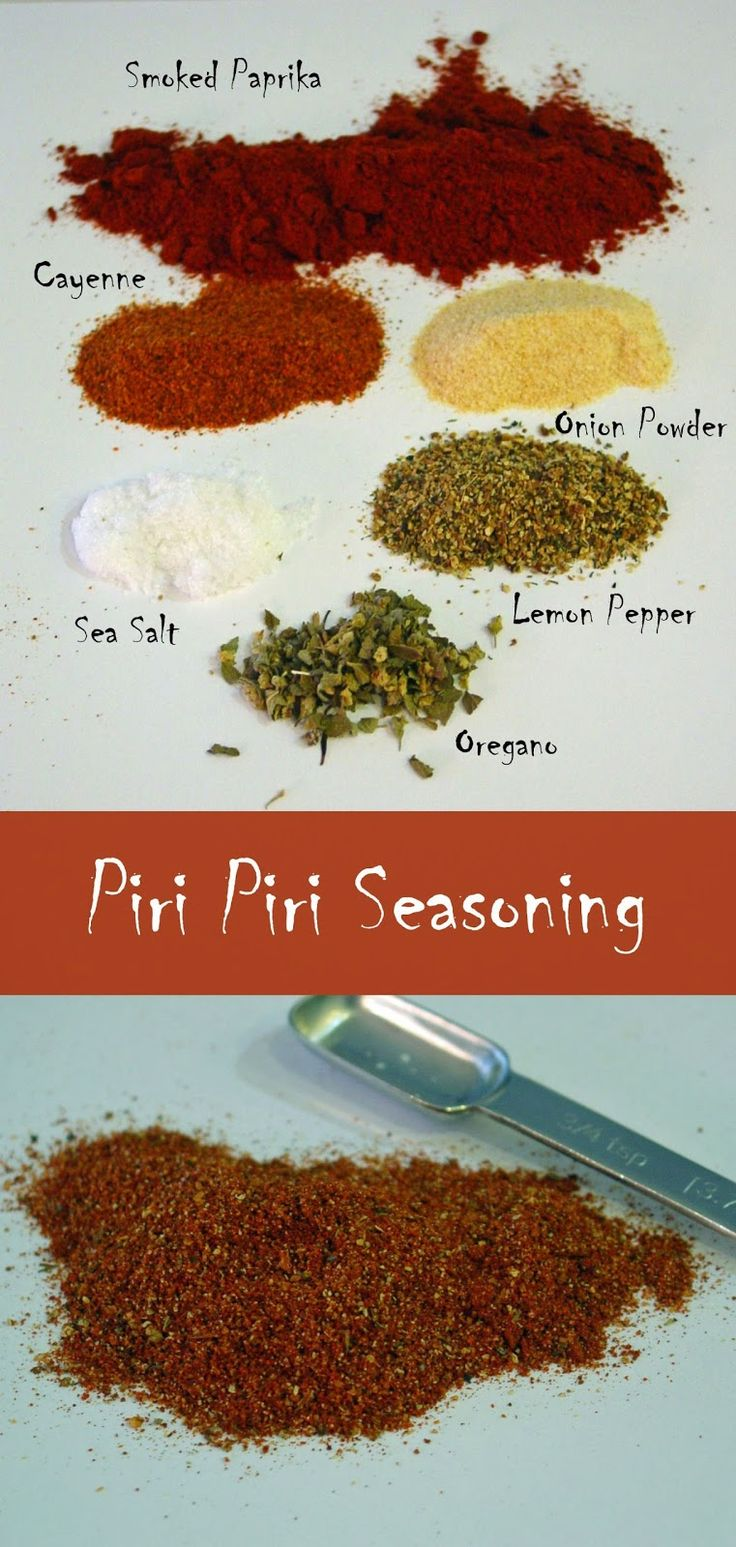 Soup Spice Everything Nice: Piri Piri Seasoning