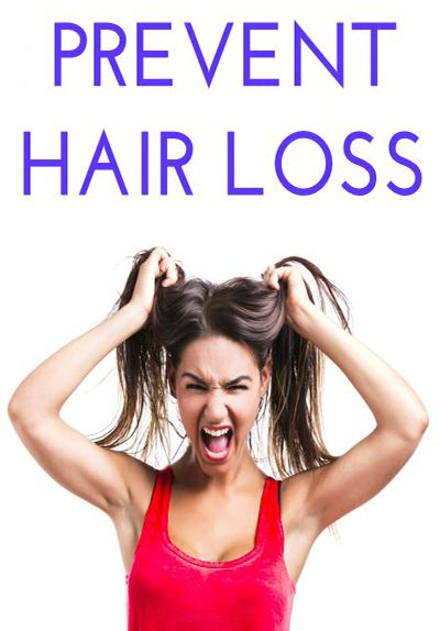 Natural Ways To Prevent Female Hair Loss
