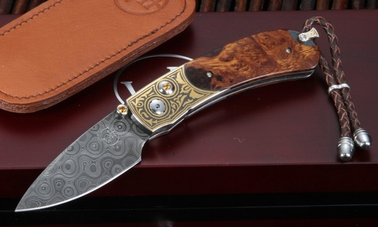 One day I'll have a pretty Damascus pocket knife.