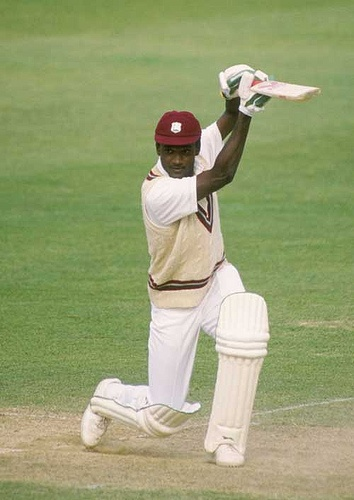 26 Carl Hooper 2000-3. 22-4-11-7. He was a right-handed batsman and off-spin bowler,
