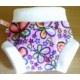 Size small butterfly print fleece soaker £4.00
