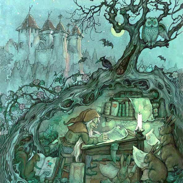 Day 9. Anton Pieck a dutch artist famous for his fairytale like works.
