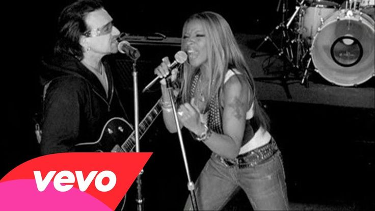 K. Mary J...is my hero. U2...is magic. The fact that I get to sing THIS song with my new amazing band, The Grey Dogs....completes me.   Mary J. Blige, U2 - ONE