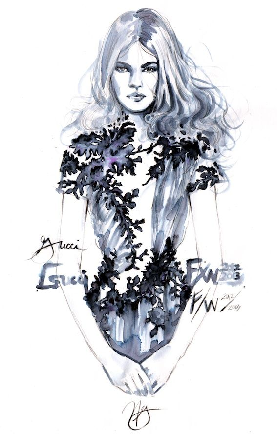 47 Fashion Illustration by Nicole Guice