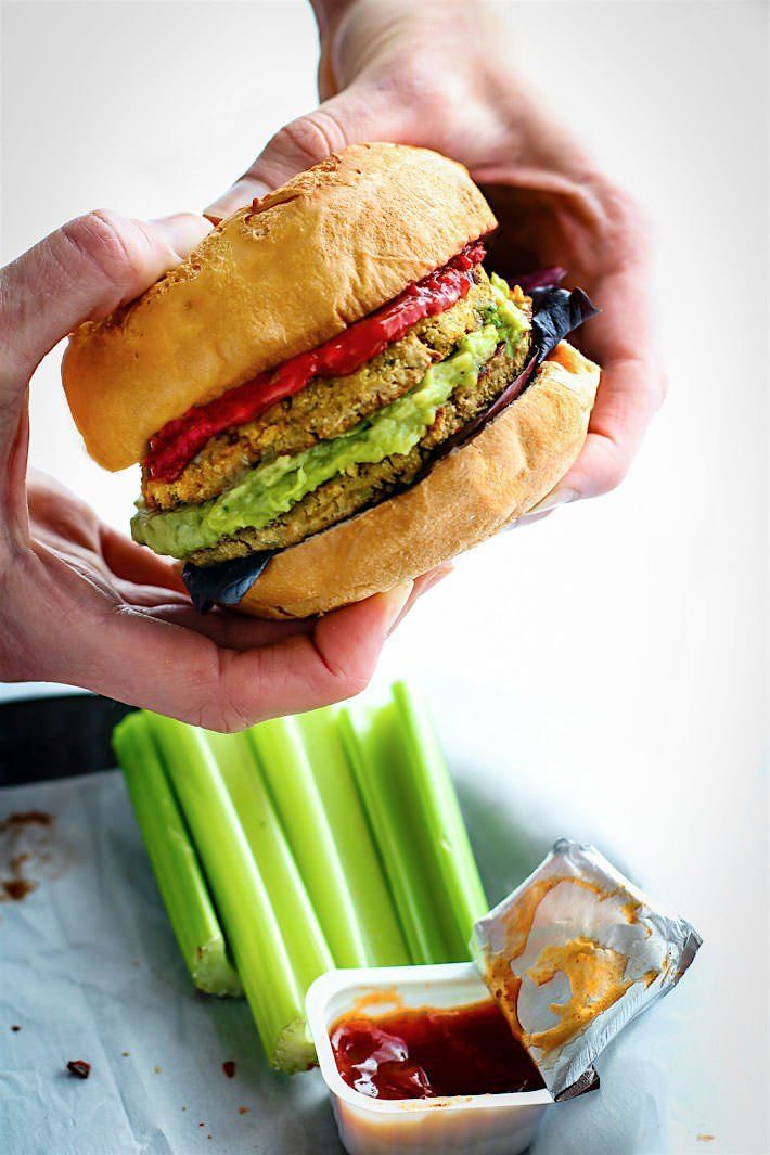 *Freezer Friendly* Veggie Burgers