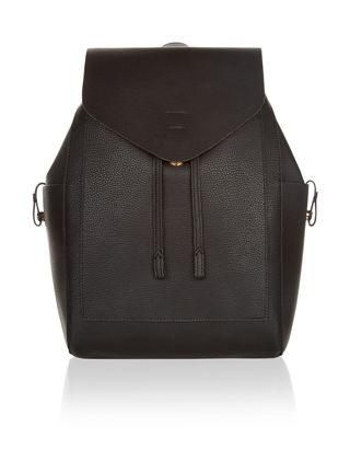 Minimalist and clean, our Nora backpack has a simple flap closure with a drawstring top, plus two side pockets with tab details. This effortlessly cool desig...