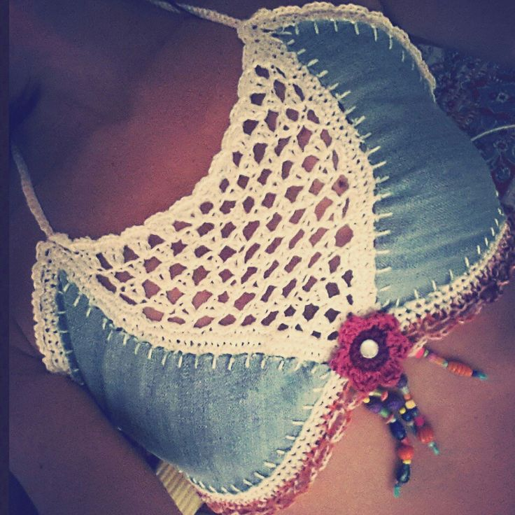 crochet top handmade