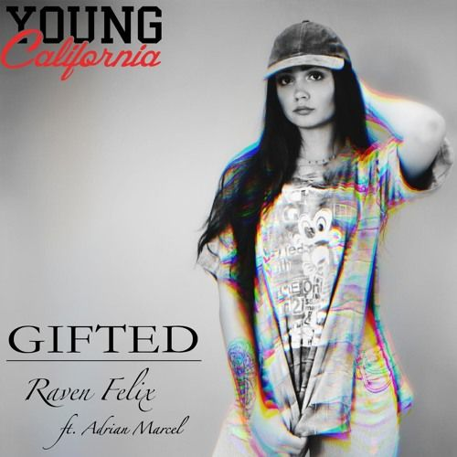 """#YoungCalifornia Exclusive Raven Felix """"Gifted"""" Feat. Adrian Marcel by YNGCA 