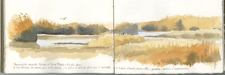 Urban Sketchers Italy: Acquerelli invernali