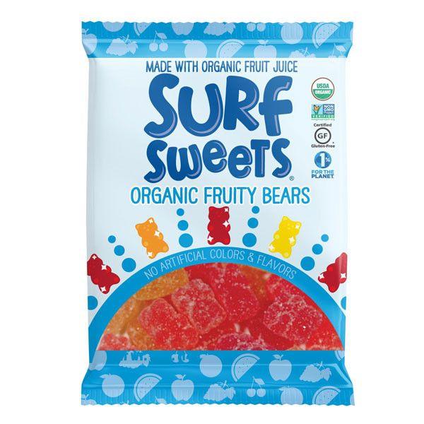Surf Sweets Organic Fruity Bears - 78g – VeganSupply.ca