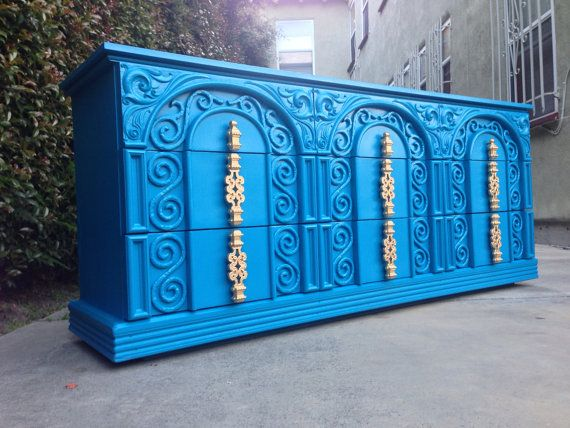 CUSTOM Hollywood Regency Dressers Painted To By TheHouseofWillow