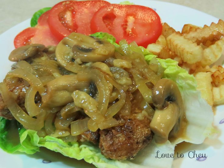 Love to Cheu: Chicken Chop