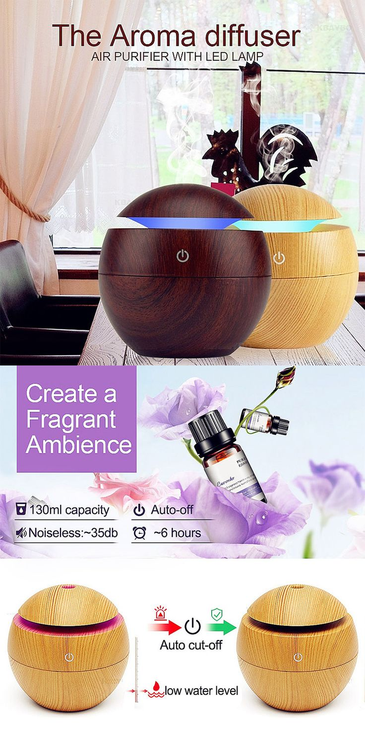 3 in 1 Ultrasonic cool mist Humidifier & Essential Oil