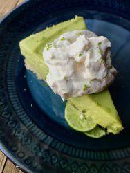 Key Lime Avocado Pie
