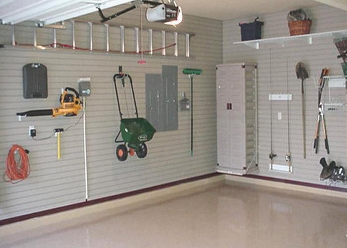 garage wall storage solution idea