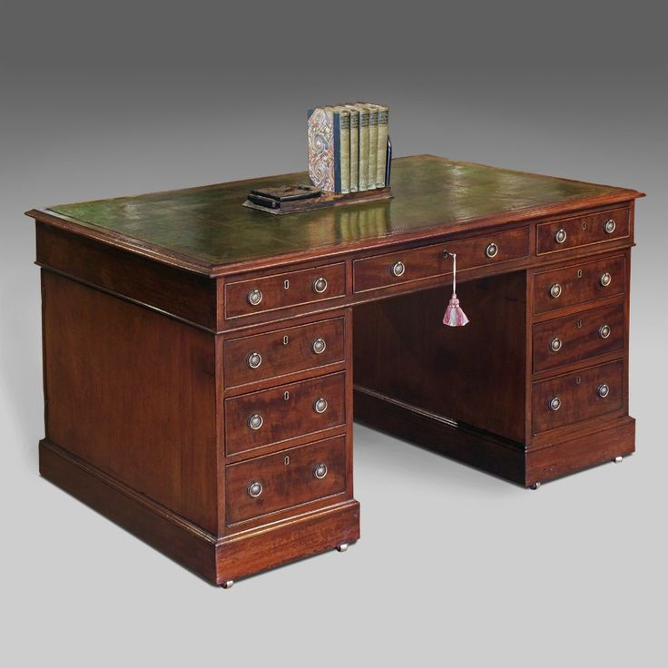 Mahogany Home Library Office: 17+ Ideas About Partners Desk On Pinterest