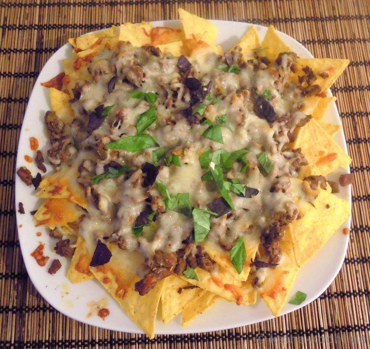 Nachos mit Hackfleisch und Käse - Katha-kocht!