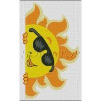 """Схема вышивки  """"Солнечный привет"""""""