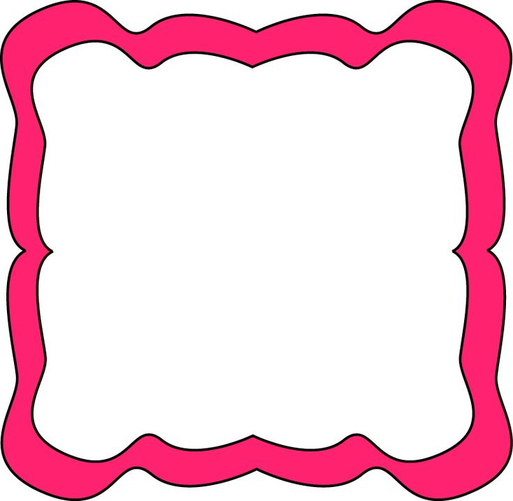 Pink Frames And Borders Google Search Clip Art Blank
