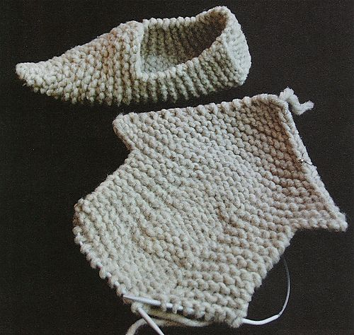 Ravelry: Knitted Clogs pattern by Elizabeth Zimmermann