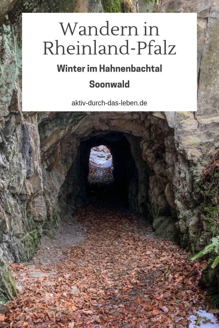Winterwanderung im wildromantischen Hahnenbachtal …