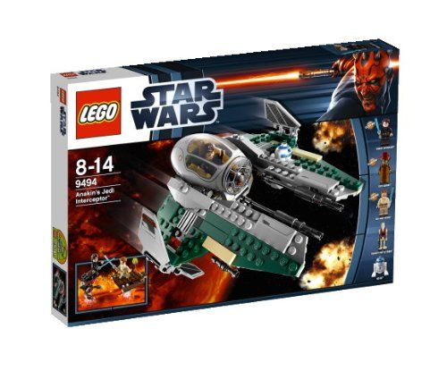 LEGO Star Wars – Interceptor Jedi de Anakin (9494) | Your #1 Source for Toys and Games