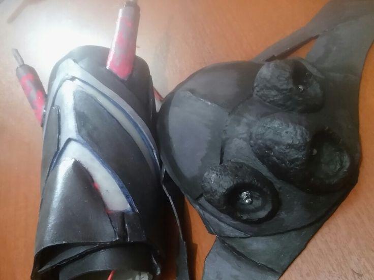 Braser casco...mitad del proceso