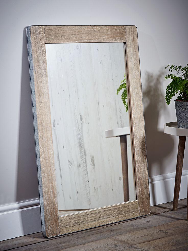 Metal Edged Mirror - Large