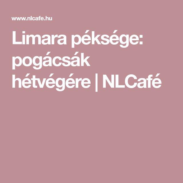 Limara péksége: pogácsák hétvégére | NLCafé