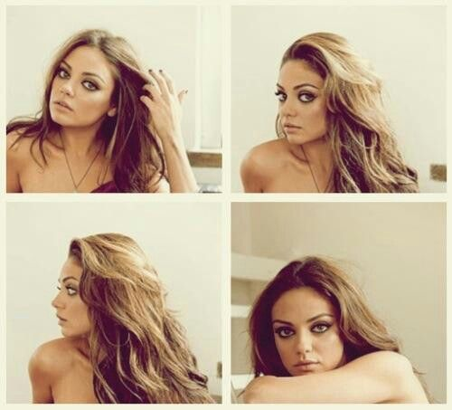 Mila Kunis. Holy balls why is she so gorgeous?
