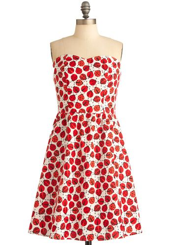 Ladybug in Red Dress - I'm kind of surprised by how much I like this.
